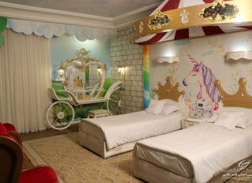 اتاق کودک هتل