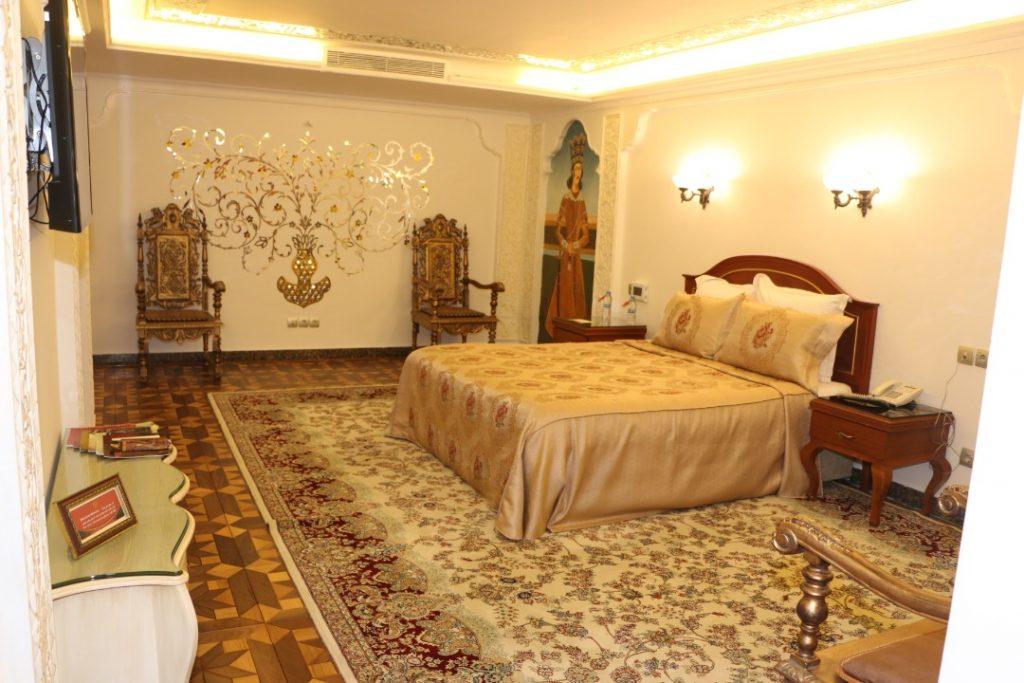 اتاقهای هتل بینالمللی قصر طلایی